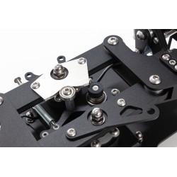 RX Viper V2 Rudder Pedals (Silver)