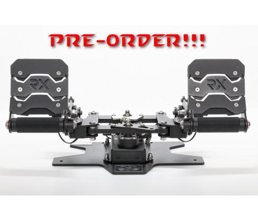 PRE-ORDER!!! RX Viper V2 Rudder Pedals (Dark Metallic)